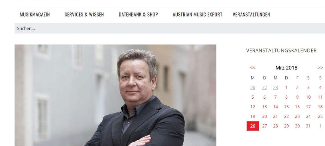 Ludwig Nussbichler im Mica-Interview