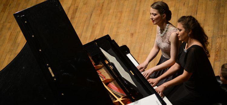 Klavierduo Ariadita (Foto: S. Karahoda)